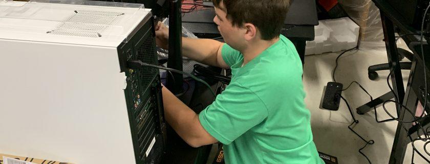 Building PC's in E-Sports